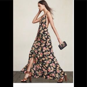 Reformation Vine floral maxi dress
